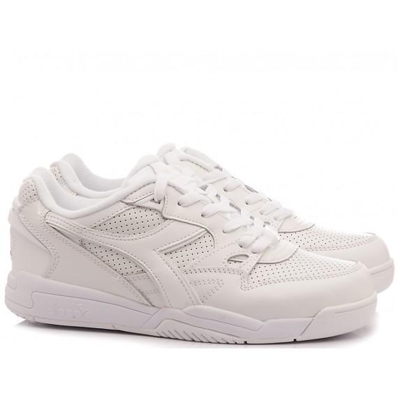 Diadora Sneakers Uomo Game L Low Waxed White-Amber Gold