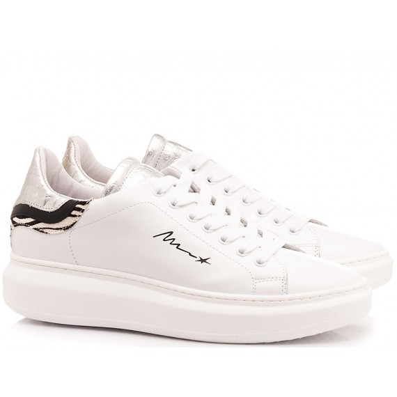 Méliné Women's Sneakers Leather White NO1606
