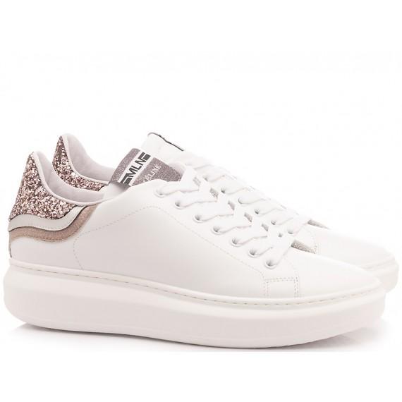 Méliné Women's Sneakers Leather White NO1601