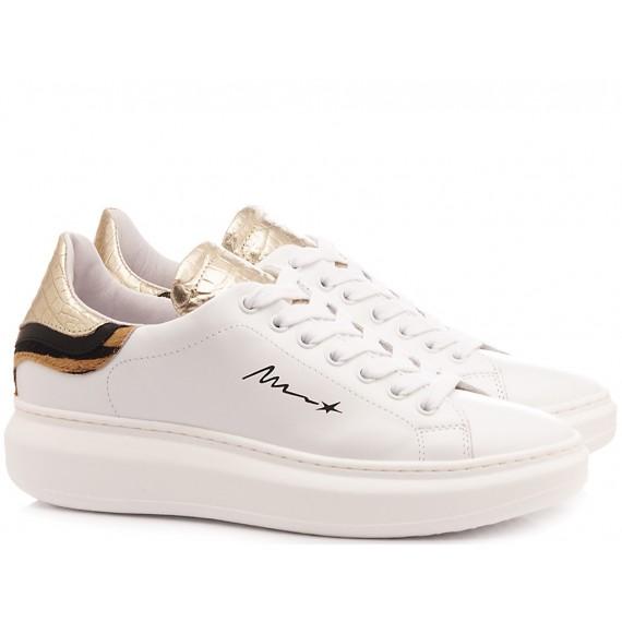 Méliné Sneakers Donna Bianco NO1606