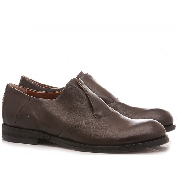 A.S. 98 Men's Shoes Leather Brown 490103