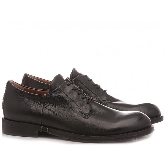 A.S. 98 Men's Shoes Leather Black 490101