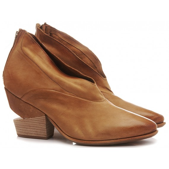 A.S. 98 Women's Ankle Boots Leather Brown 510126