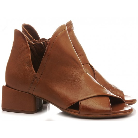 A.S. 98 Women's Ankle Boots Leather Brown A17006