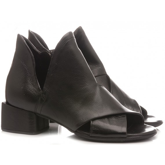 A.S. 98 Women's Ankle Boots Leather Black A17006