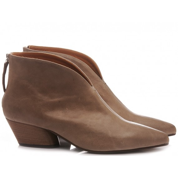 MAT:20 Women's Ankle Boots Leather Taupe 5357