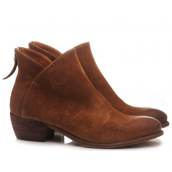 MAT:20 Women's Ankle Boots Suede Brown 5706