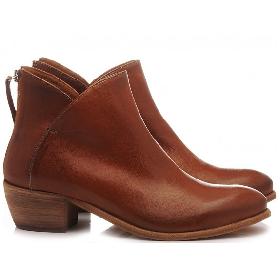 MAT:20 Women's Ankle Boots Leather Brown 5706