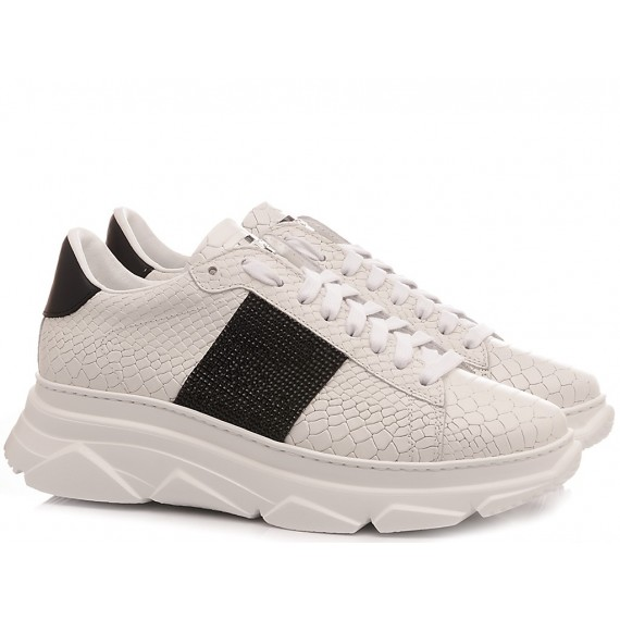 Stokton Women's Sneakers Leather White 784-D-UP
