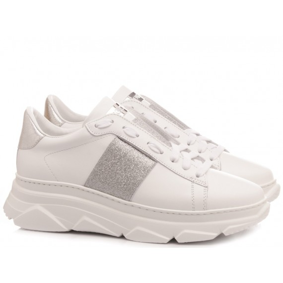 Stokton Women's Sneakers Leather White 650-D-SS20-UP