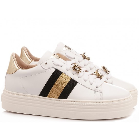 Stokton Women's Sneakers Leather White 773-D-SS20-UP