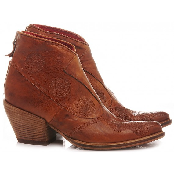 History 541 Women's Ankle Boots India15 Rust
