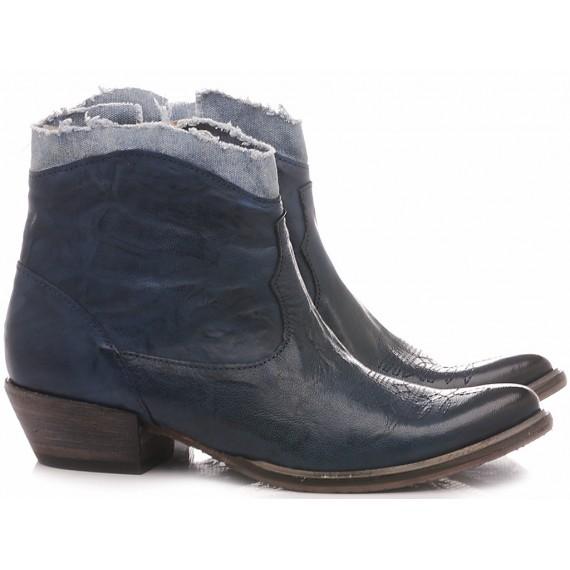 History 541 Women's Ankle Boots EK2/20BIC Blu