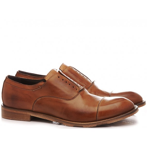 JP David Men's Shoes Leather Brown 6570/4