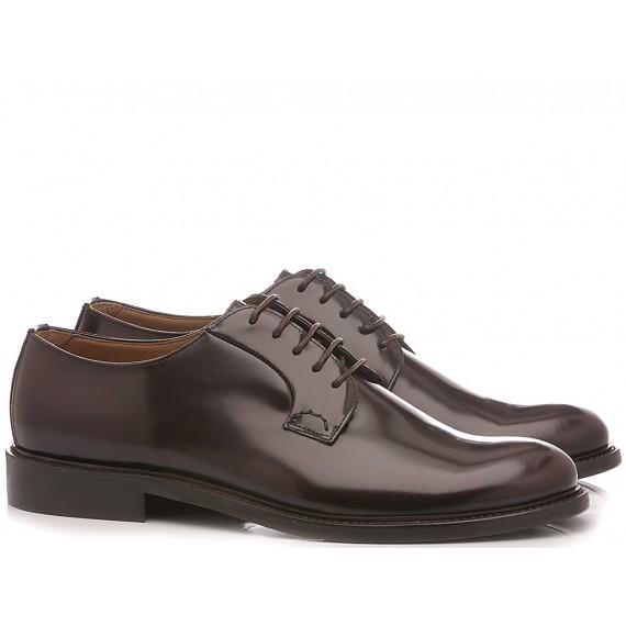 Franco Fedele Men's Classic Shoes Leather Bordeaux 2923