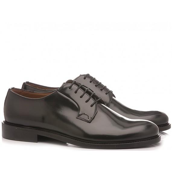 Franco Fedele Men's Classic Shoes Leather Black 2923