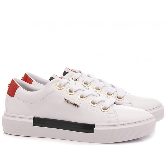 Tommy Hilfiger Sneakers Donna Elevated Bianco