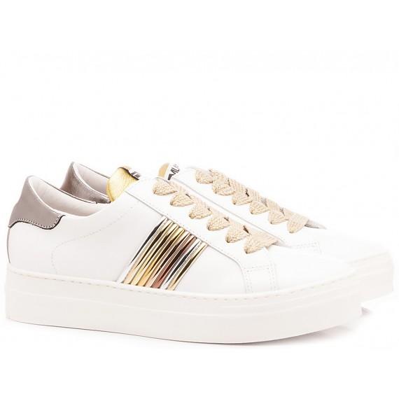 Méliné Women's Sneakers Leather White UG1351