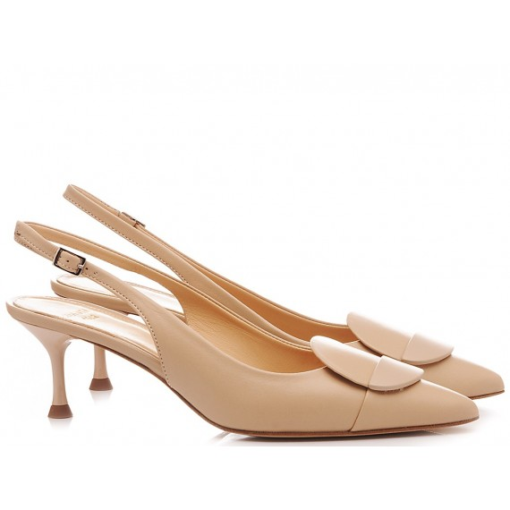 Chantal Woman's Shoes Chanel Nude 1018