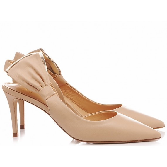 Chantal Woman's Shoes Chanel Nude 1049