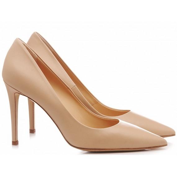 Chantal Woman's Shoes Decolletè Nude 1029