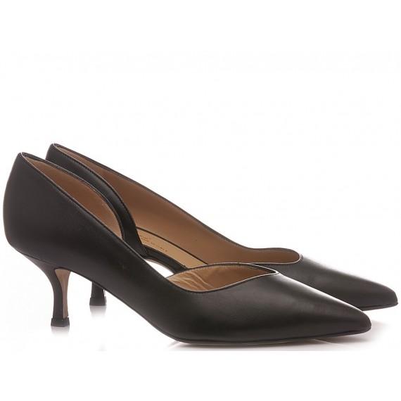 Calzaturificio Crispi Woman's Shoes Décolleté Black 346