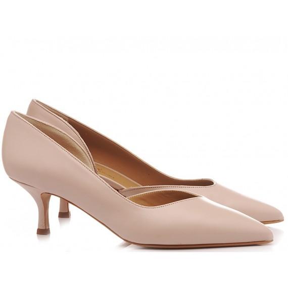 Calzaturificio Crispi Woman's Shoes Décolleté Nude 346