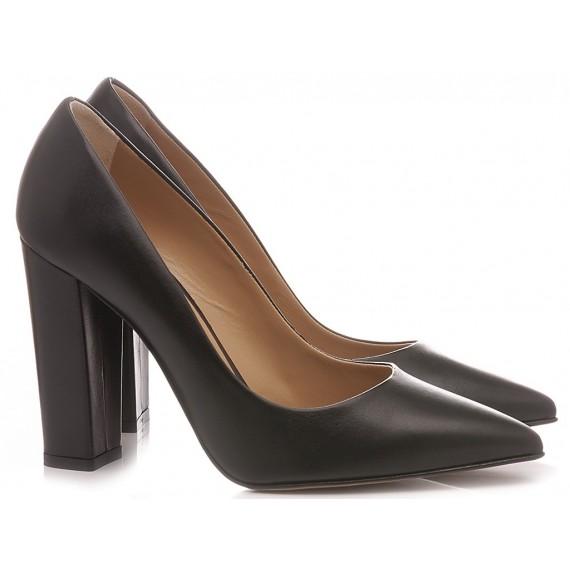 Calzaturificio Crispi Woman's Shoes Décolleté Black R42B