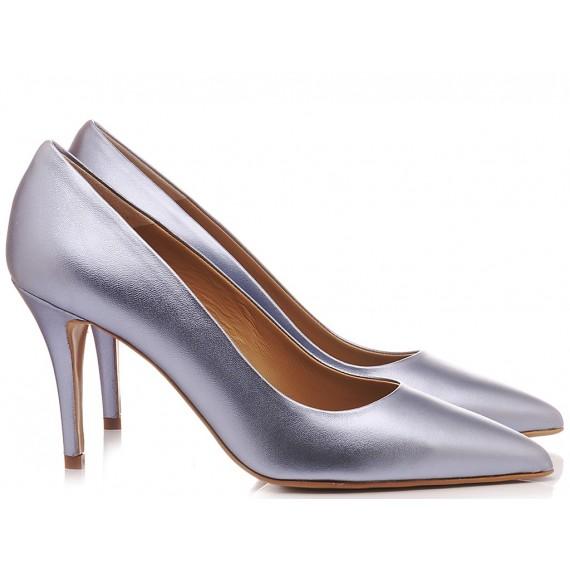 Calzaturificio Crispi Woman's Shoes Décolleté Light Blue B120