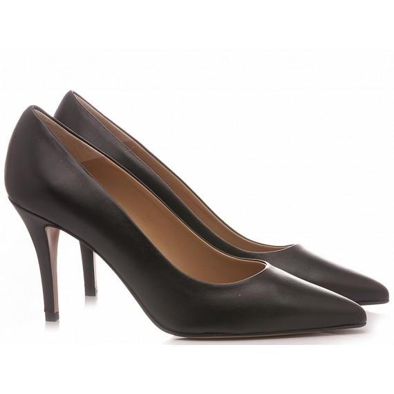 Calzaturificio Crispi Woman's Shoes Décolleté Black B120