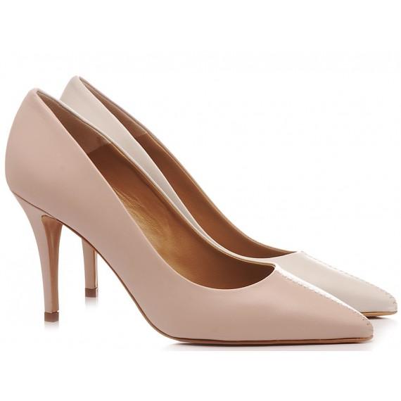 Calzaturificio Crispi Woman's Shoes Décolleté Nude 329
