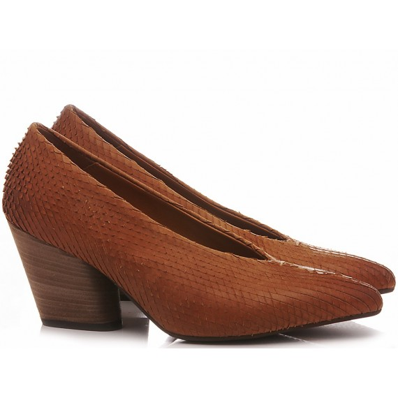 MAT:20 Women's Shoes Leather Rust 5610