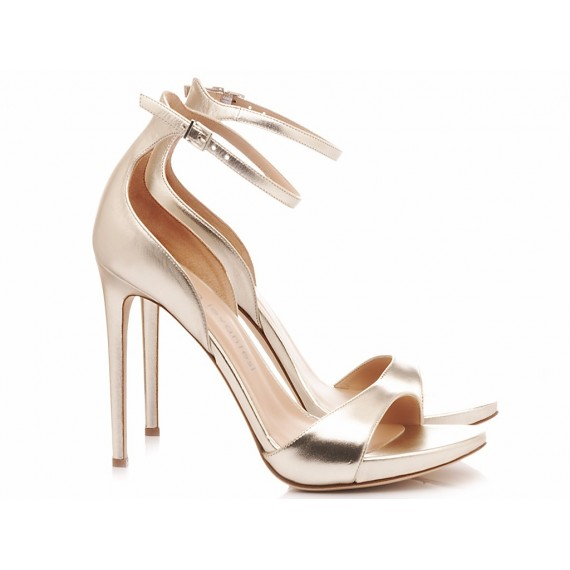 Sergio Levantesi Women's Sandals Zara Platinum