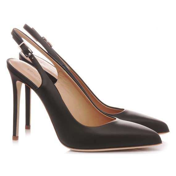 Sergio Levantesi Women's Shoes Chanel Bulgarino Black