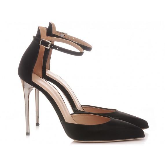 Sergio Levantesi Women's Shoes Decolletè Merytgl Vinil Black