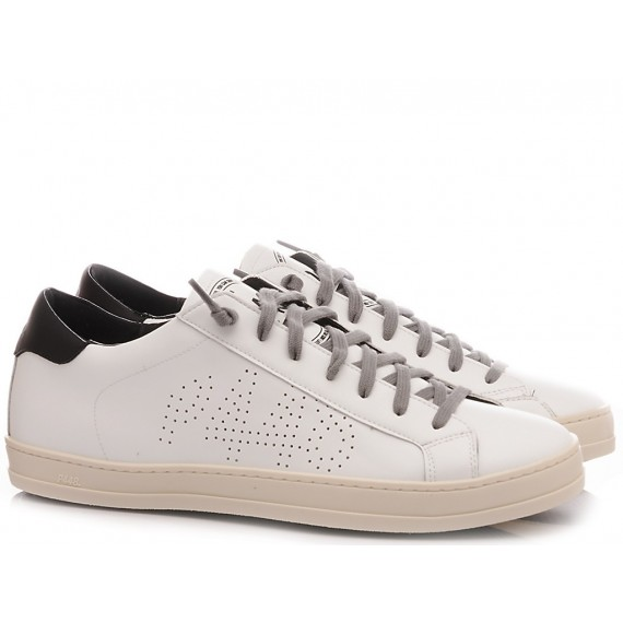 P448 Men's Low Sneakers S20 John-M White