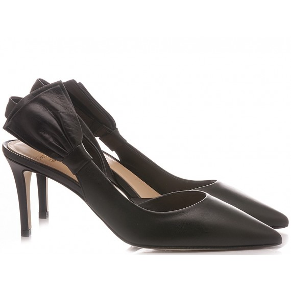 Chantal Woman's Shoes Chanel Black 1049