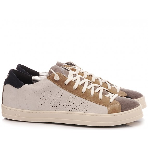 P448 Sneakers Basse Uomo S20 John-M Grey