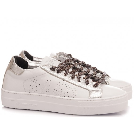 P448 Women's Low Sneakers S20 Thea-W White-Gold