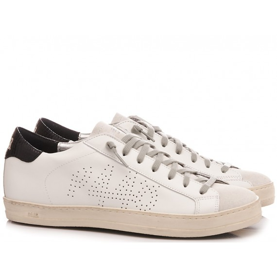 P448 Women's Low Sneakers S20 Jhon-W White-Black