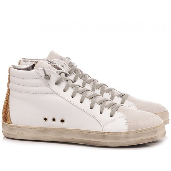 P448 Women's Sneakers S20 Skate-W White-Gold