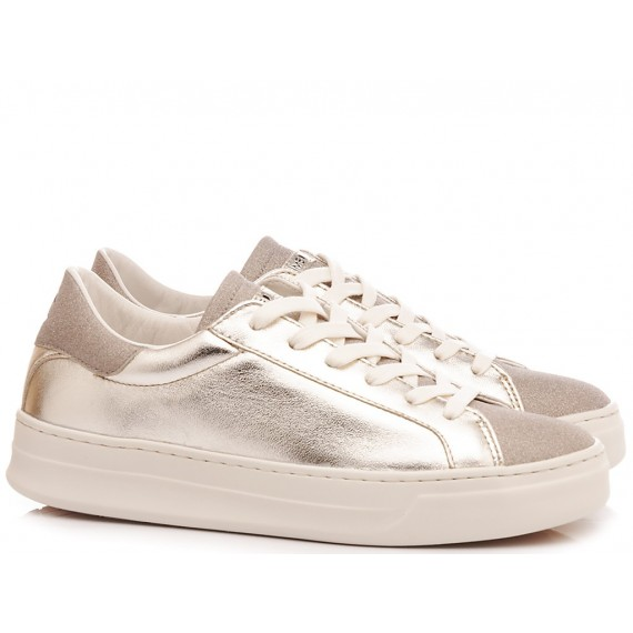 Crime London Sneakers Basse Donna Sonik Platino