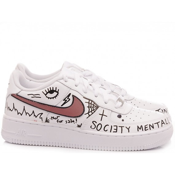 Nike Sneakers Donna Air Force 1 Costumizzate