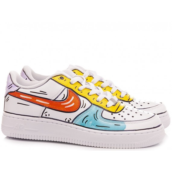 Nike Women's Sneakers WMNS Air Force 1 Costumized