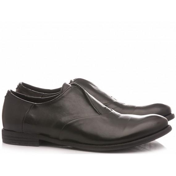 Pawelk's Men's Classic Shoes Leather Black 20001