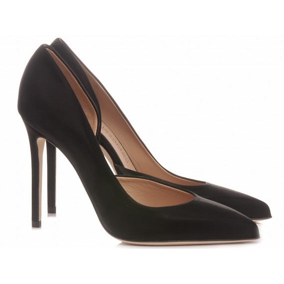 Sergio Levantesi Women's Shoes Decolletè Myla Vinil Black