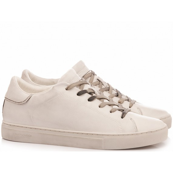 Crime London Sneakers Basse Uomo Beat White