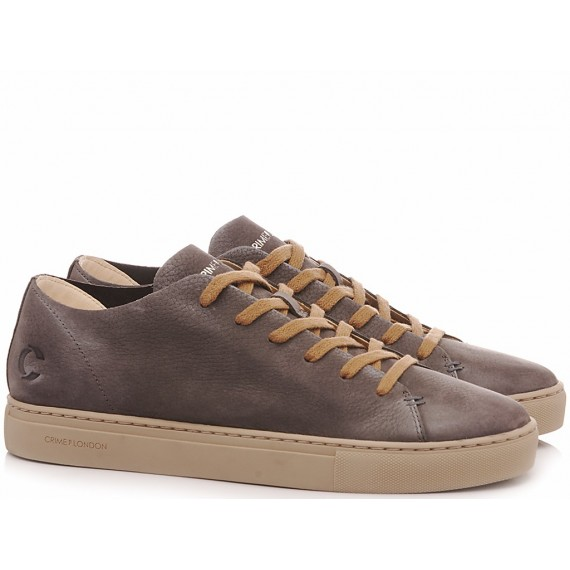 Crime London Sneakers Basse Uomo Raw Low Dark Grey