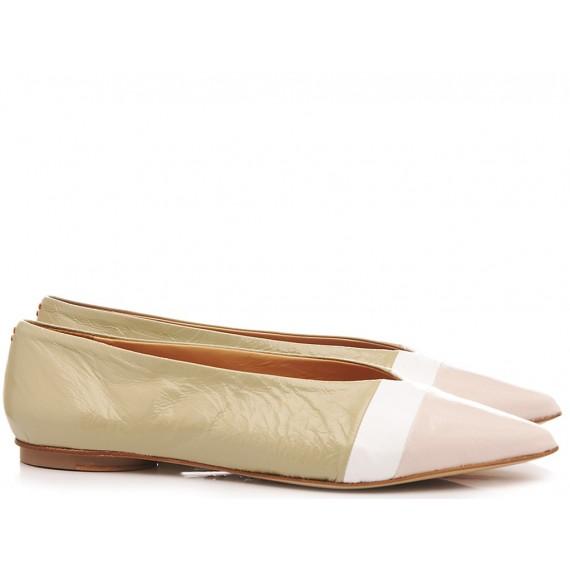 Halmanera Woman's Ballerina Shoes Leather Lali03