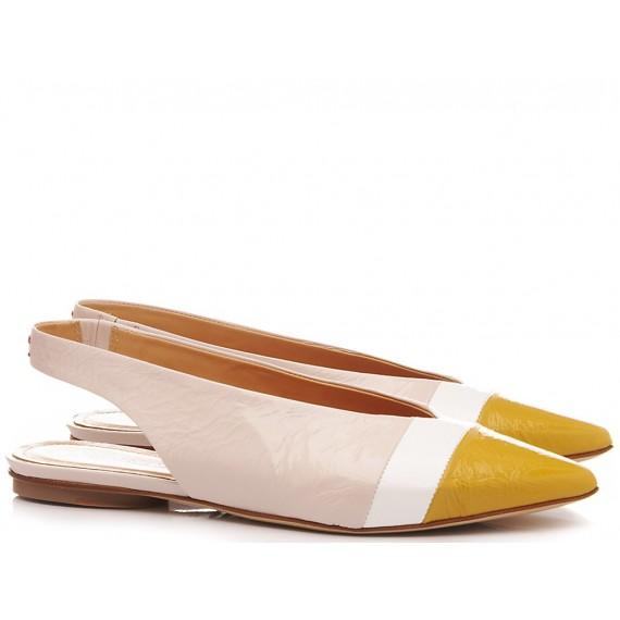 Halmanera Woman's Ballerina Shoes Leather Lali04
